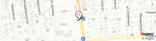 Терминал самообслуживания, Ощадбанк, ПАТ на карте Авангарда