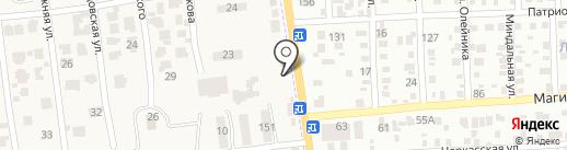 Торгово-сервисный центр на карте Авангарда