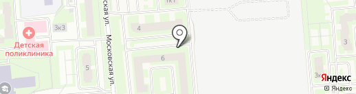 За рулём на карте Тельманы