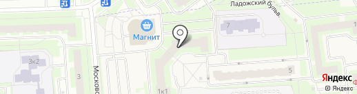 Бульвар на карте Тельманы