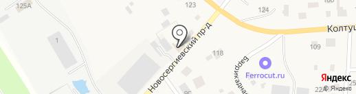 112СТО на карте Старой