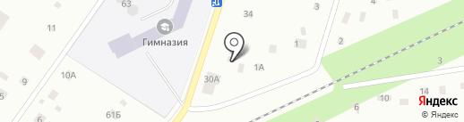 АСТ-Неруд на карте Всеволожска