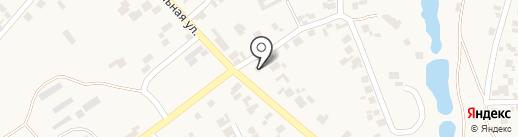 Почтовое отделение связи на карте Нерубайского