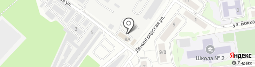 Жилищно-коммунальная компания на карте Всеволожска