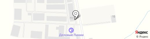 Деловые Линии на карте Тельманы