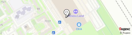 Golfstream на карте Санкт-Петербурга