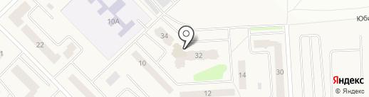 Спутник на карте Старой