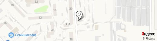 Автостоянка на карте Старой
