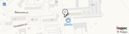 Магазин смешанных товаров на карте Старой