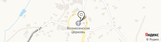Вознесенская церковь на карте Нерубайского