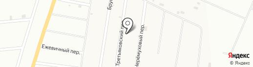 Гостевой дом на Брусничной на карте Молодёжного