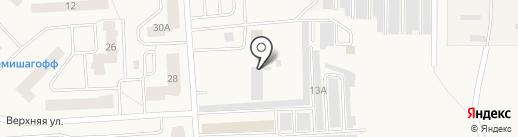 Никкос на карте Старой