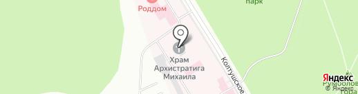 Храм Святого Архистратига Божия Михаила на карте Всеволожска