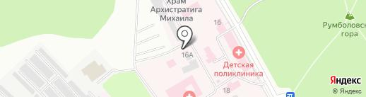 ТОРТУГА на карте Всеволожска