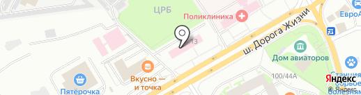 Лабиринт 78 на карте Всеволожска