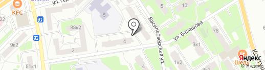 Квант, ТСЖ на карте Всеволожска