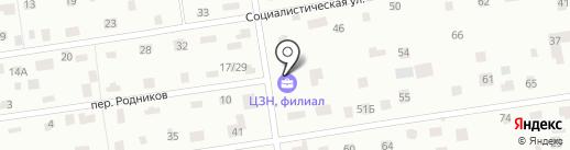 Всеволожский центр занятости населения на карте Всеволожска
