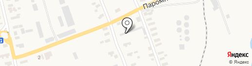 Производственно-торговая фирма на карте Малодолинского