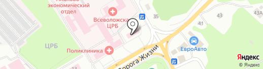 Росгосстрах, ПАО на карте Всеволожска