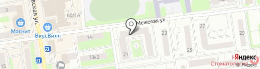 Межевая-21, ТСЖ на карте Всеволожска