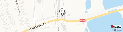 Автомаркет на карте Малодолинского