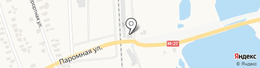 Автовид на карте Малодолинского