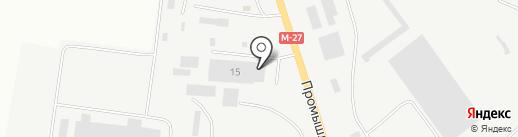 Монтаж-23 на карте Ильичёвска
