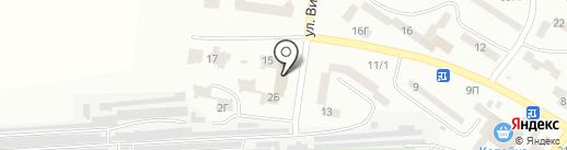 Снежная королева на карте Ильичёвска