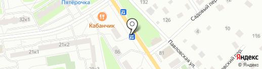 Цветочный магазин на карте Всеволожска