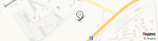 Сеть торгово-сервисных центров на карте Нерубайского