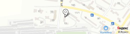 Лускунчик на карте Ильичёвска