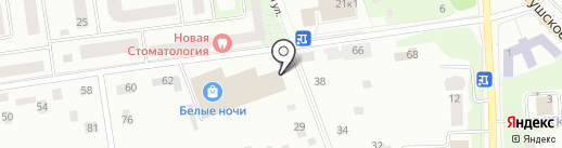 Мобильные мелочи на карте Всеволожска