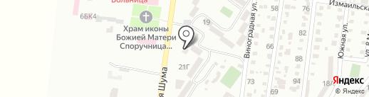 Малыш на карте Ильичёвска