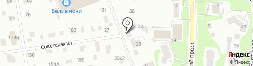 РК на карте Всеволожска