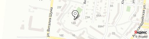 Одесская областная федерация Taekwon-do ITF на карте Ильичёвска