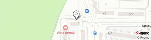 Южная долина, ТСЖ на карте Всеволожска
