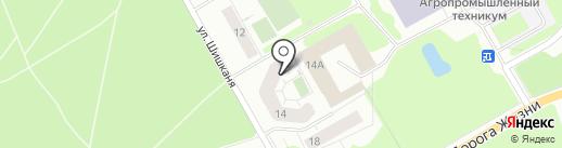 Петербургская недвижимость на карте Всеволожска