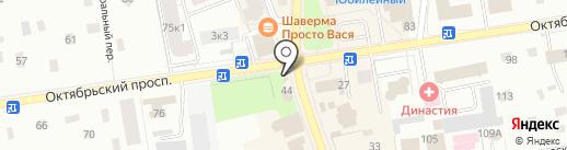 Продуктовый магазин на карте Всеволожска