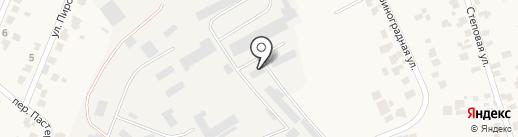 На Кільцевій на карте Нерубайского