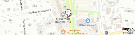 Банк СИАБ, ПАО на карте Всеволожска
