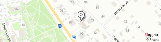 Всеволожский районный методический центр, МУ на карте Всеволожска
