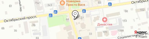 Лавка белья на карте Всеволожска