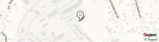 АЗС на ул. Пастера на карте Нерубайского