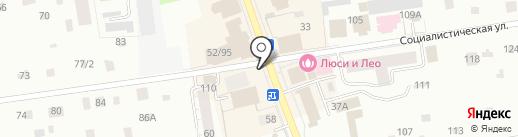 Парикмахерская эконом-класса на карте Всеволожска