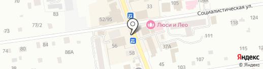 Сеть платных туалетов на карте Всеволожска