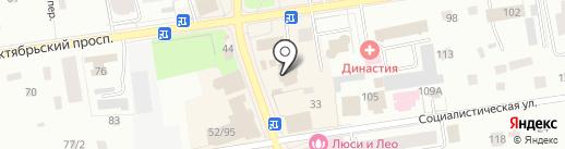 УралСиб на карте Всеволожска