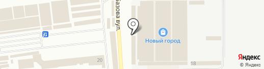 Gloria Cargo 8358 на карте Одессы
