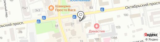 Адвокатский кабинет Арсентьева И.Г. на карте Всеволожска