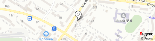 Дом Гелиос на карте Ильичёвска