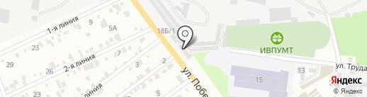 Ильичёвское предприятие Одесской региональной торгово-промышленной палаты на карте Ильичёвска